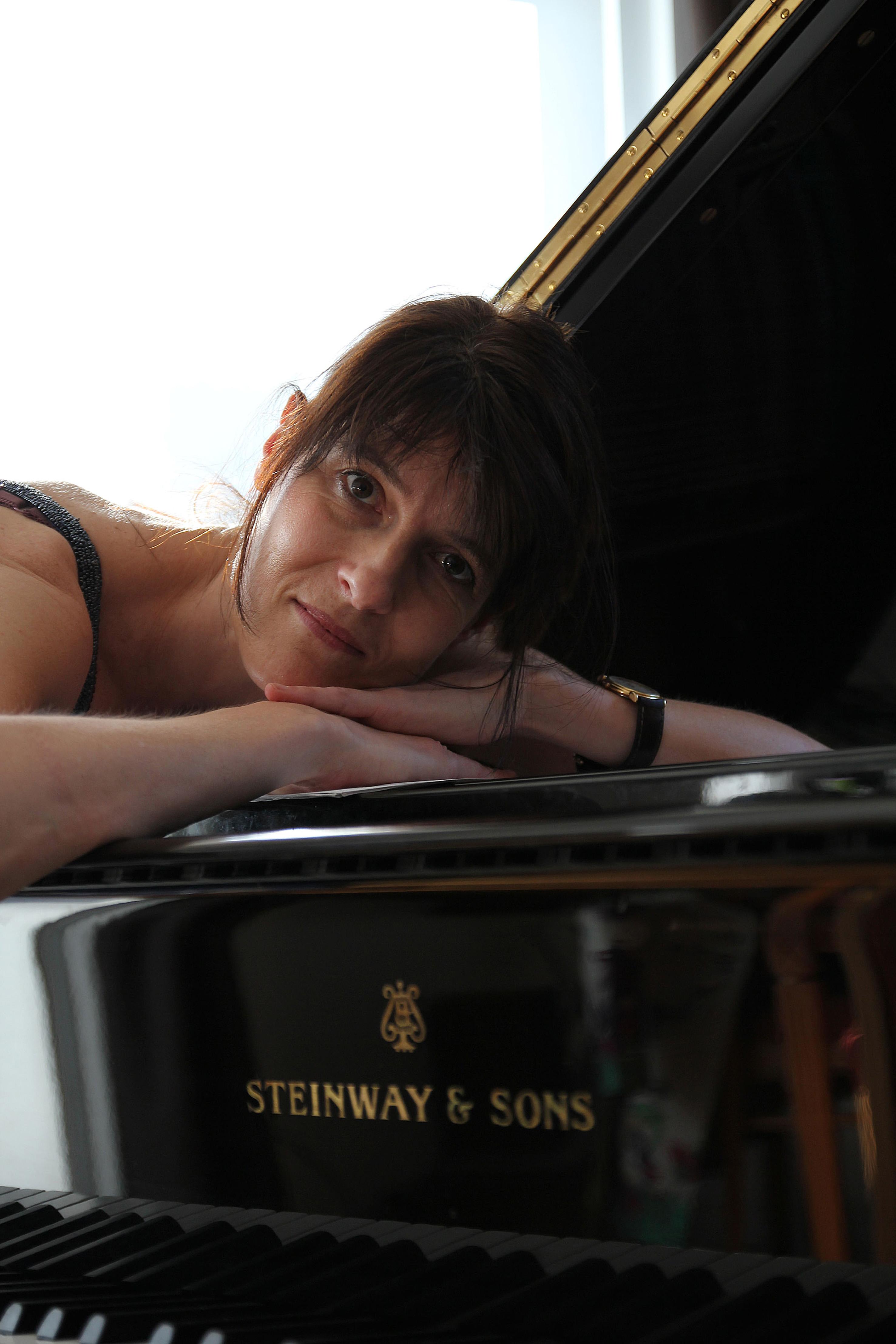 Pianistin - Renate von Bardeleben